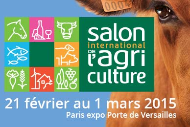 Salon de l'agri 2015